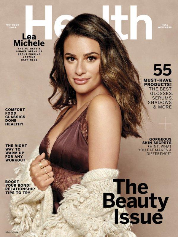 Lea Michele - Health (October 2019)