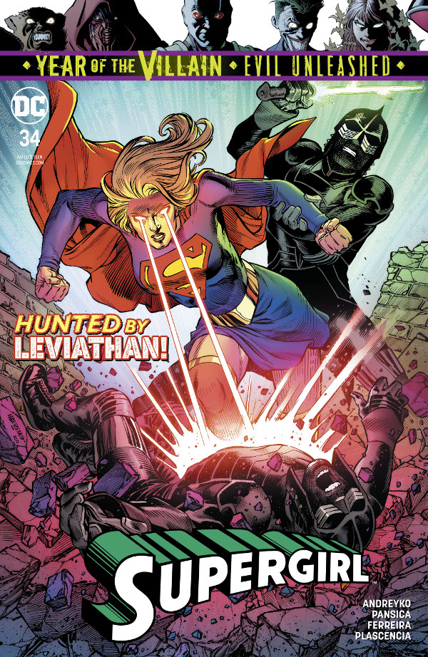 Supergirl #34 comic review