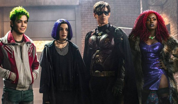 Titans - The Complete First Season Blu-ray review