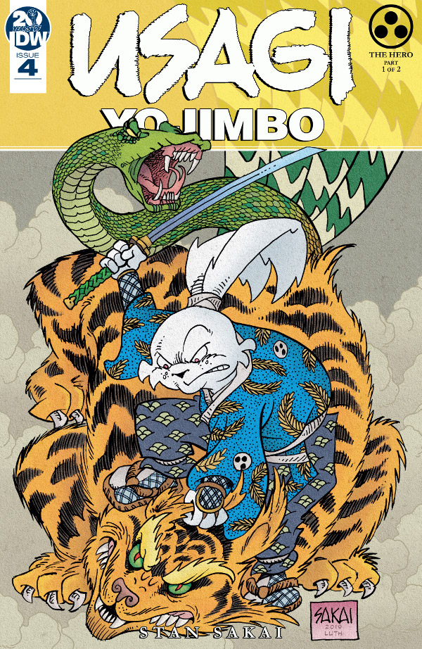 Usagi Yojimbo #4 comic review