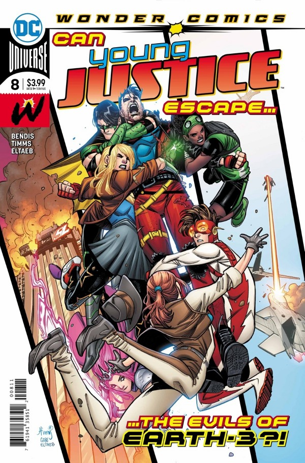 Young Justice #8 comic review