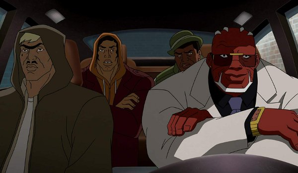 Young Justice - Private Security television review