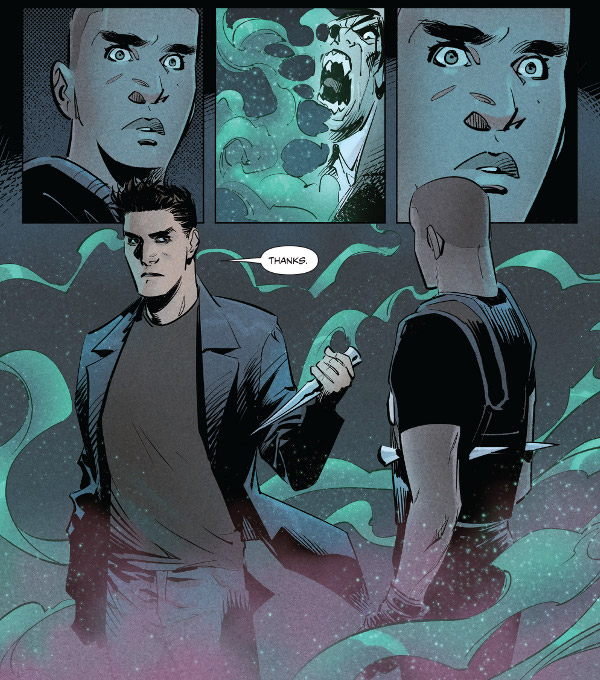 Angel #5 comic review