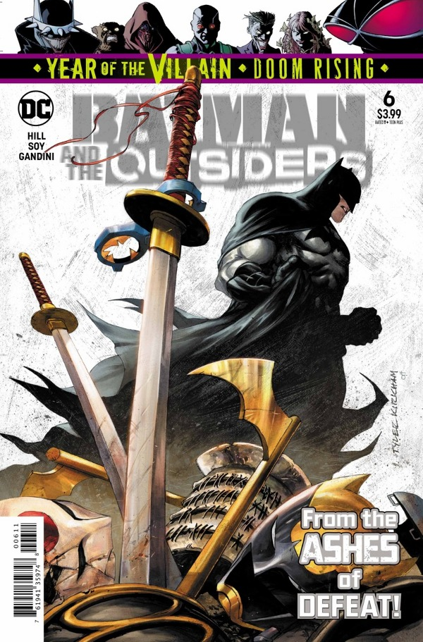 Batman & the Outsiders #6 comic review