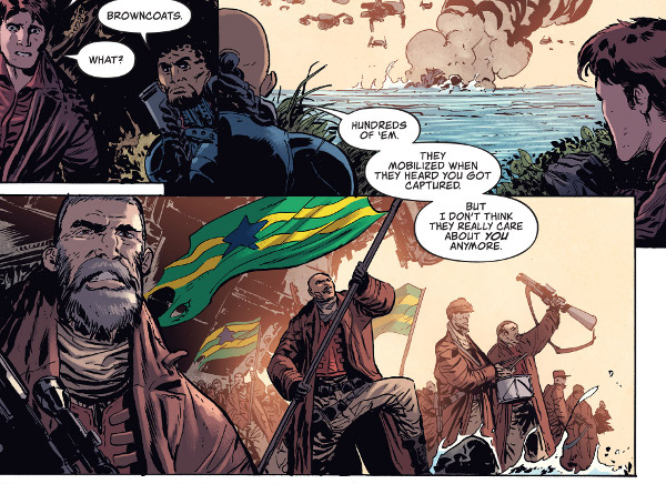 Firefly #9 comic review