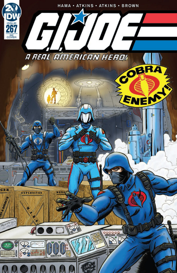 G.I. JOE: A Real American Hero #267 comic review