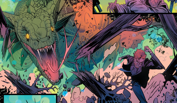 Once and Future #1 comic review