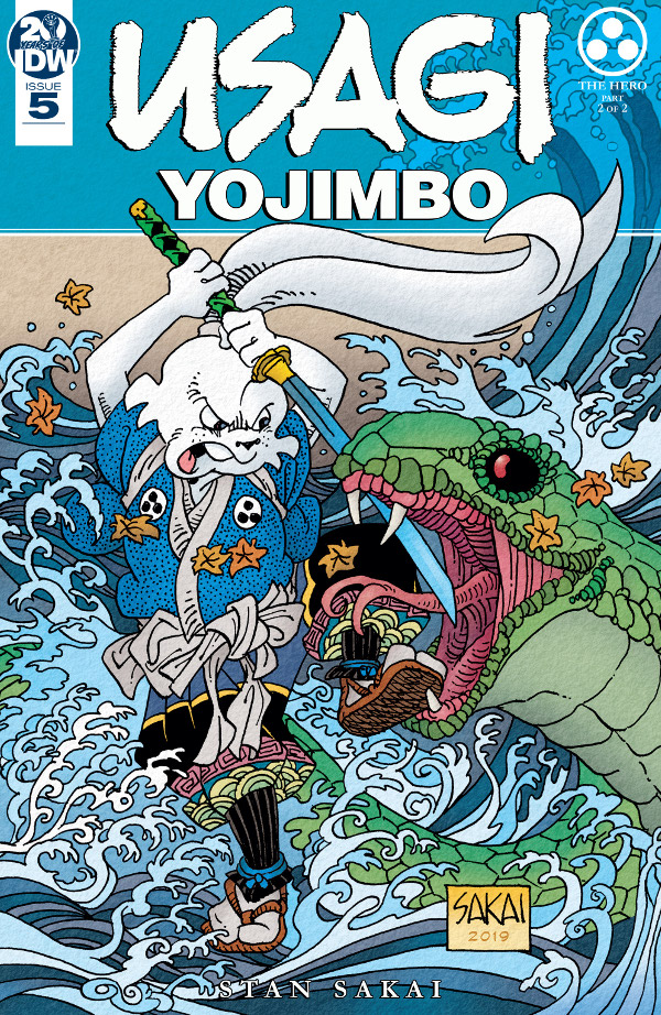 Usagi Yojimbo #5 comic review