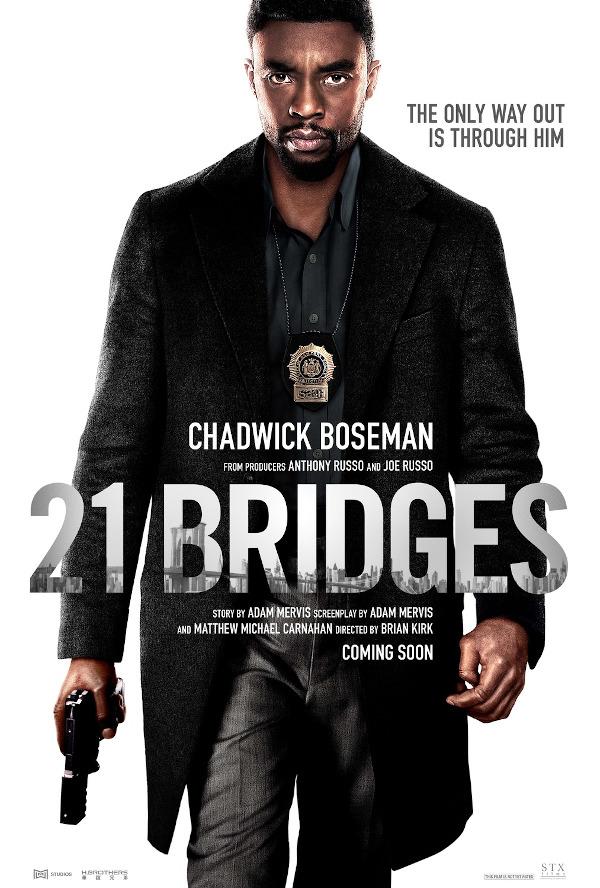 21 Bridges movie review