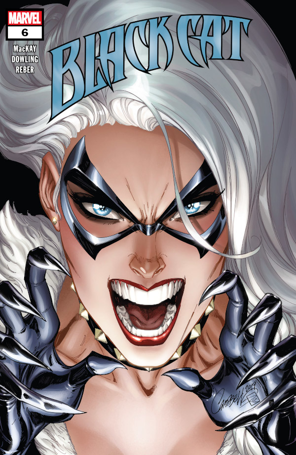 Black Cat #6 comic review