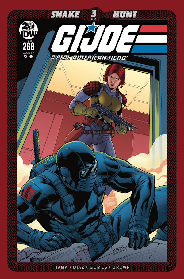 G.I. JOE: A Real American Hero #268 comic review