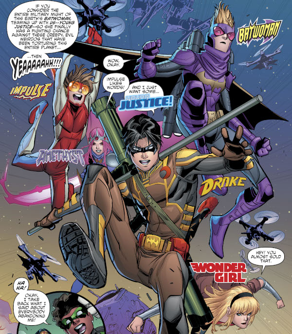 Young Justice #10 comic review