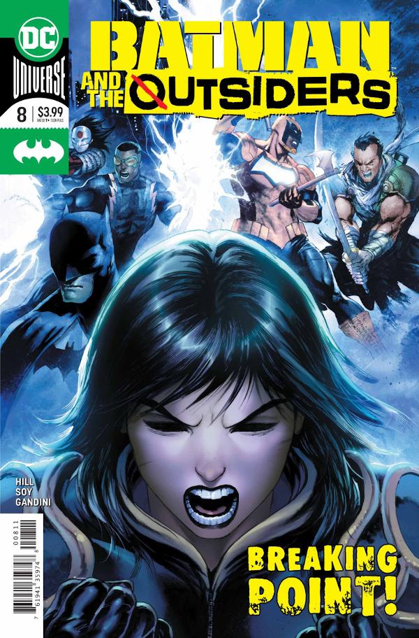Batman & the Outsiders #8 comic review