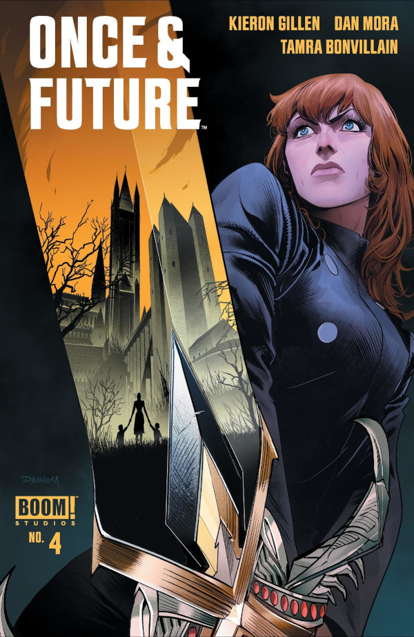 Once and Future #4 comic review