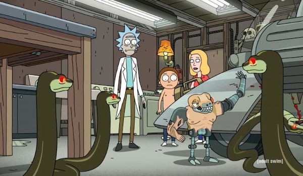 Rick and Morty - Rattlestar Ricklactica television review