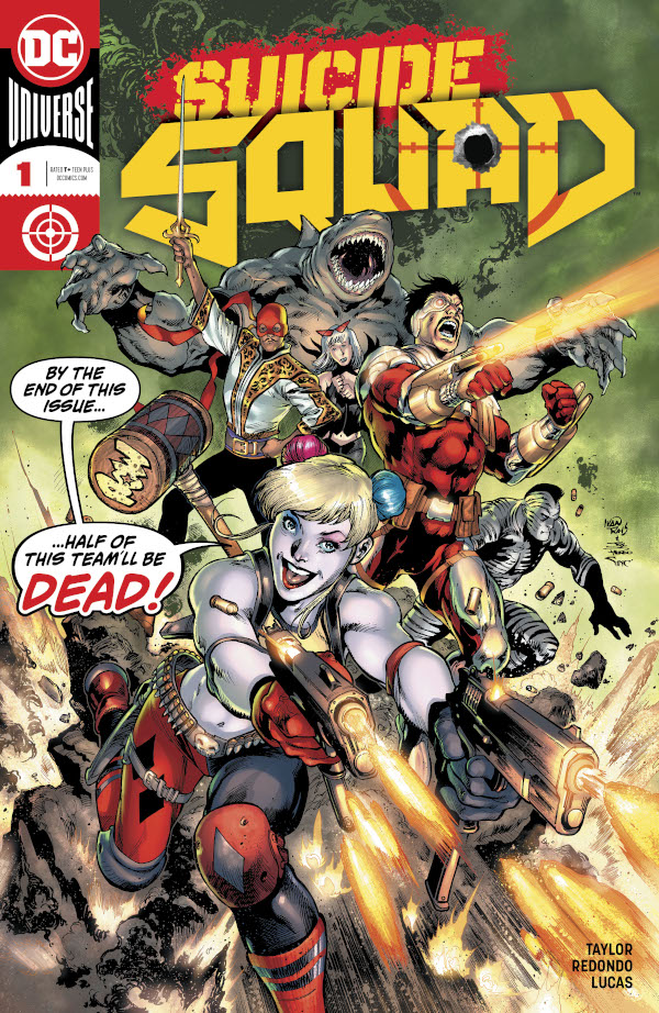 Suicide Squad #1 comic review