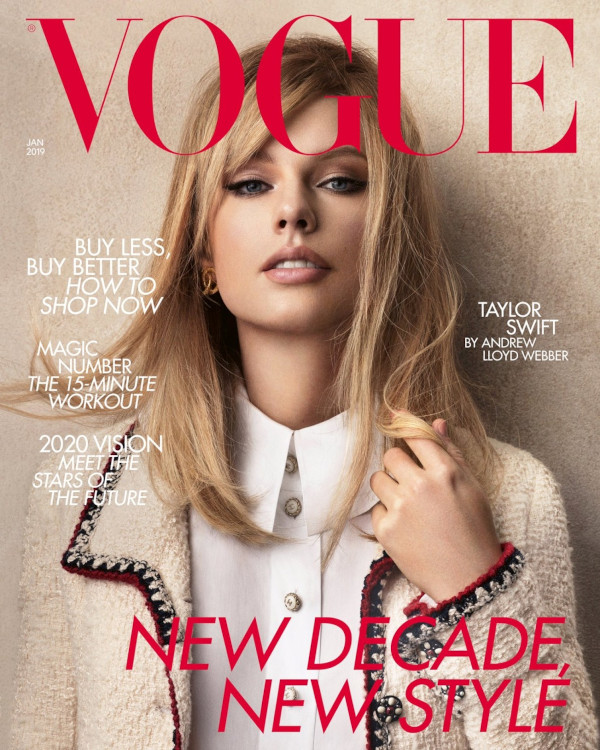 Taylor Swift - British Vogue (January 2020)1
