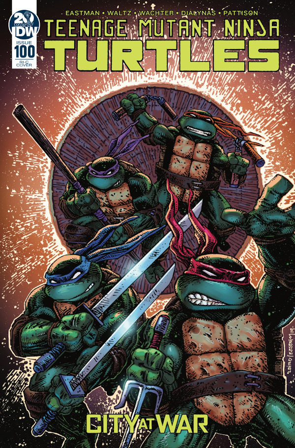 Teenage Mutant Ninja Turtles #100 comic review