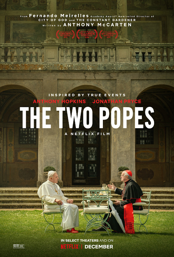 The Two Popes movie review