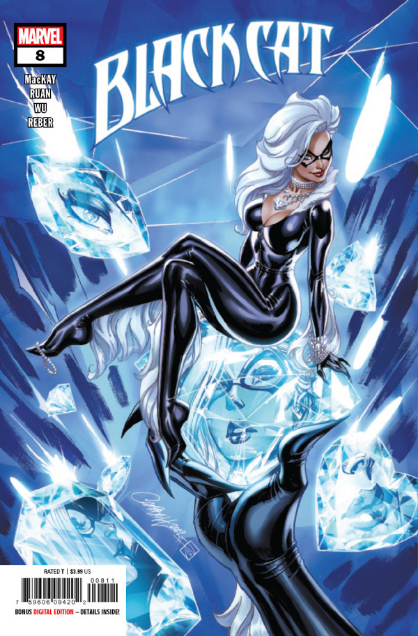 Black Cat #8 comic review