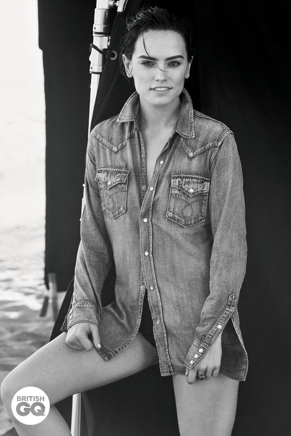 Daisy Ridley - British GQ (January 2020)