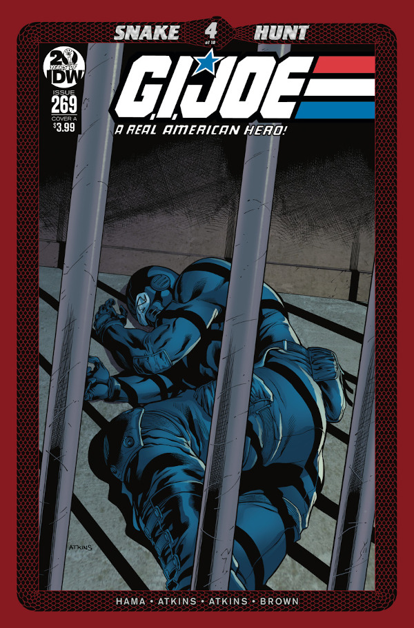 G.I. JOE: A Real American Hero #269 comic review