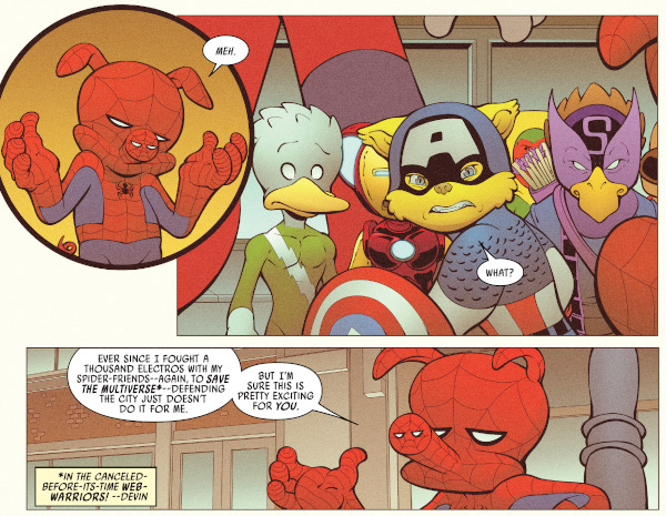 Peter Poker, the Spectacular Spider-Ham #1 comic review
