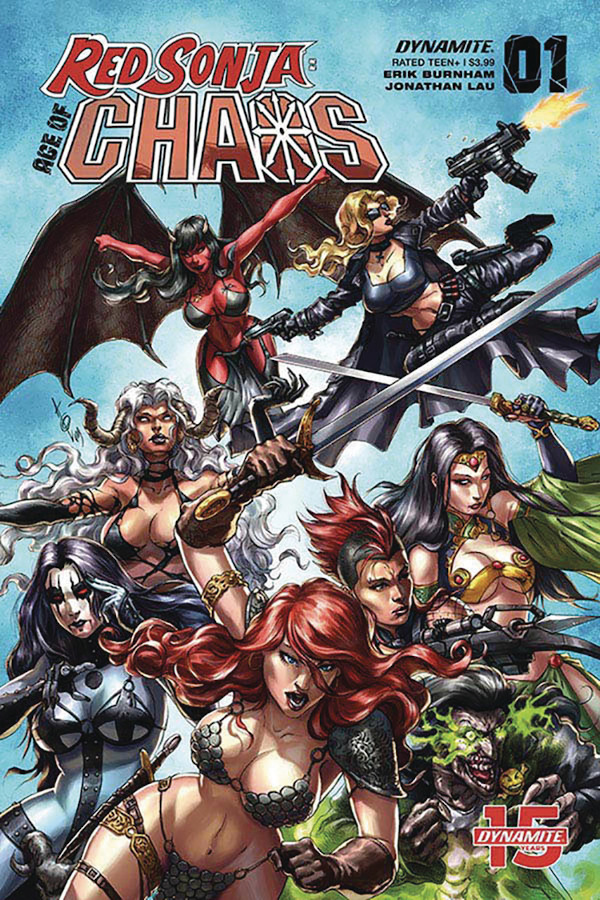 Red Sonja: Age of Chaos #1 review