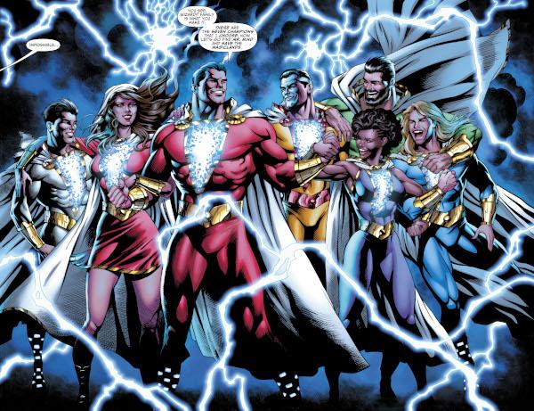 SHAZAM! #9 comic review