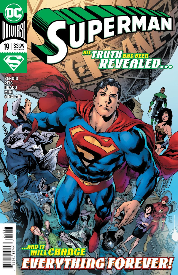 Superman #19 comic review