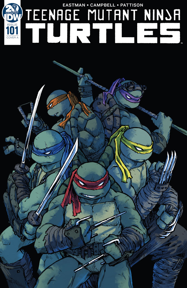 Teenage Mutant Ninja Turtles #101 comic review