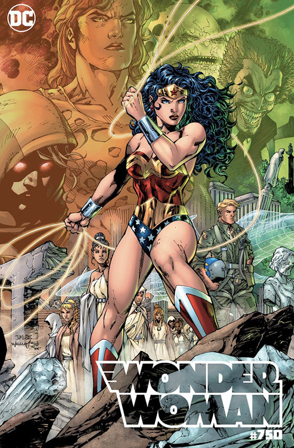 Wonder Woman #750 comic review