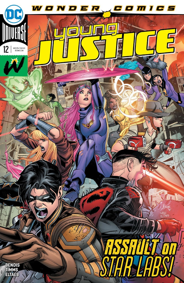 Young Justice #12 comic review