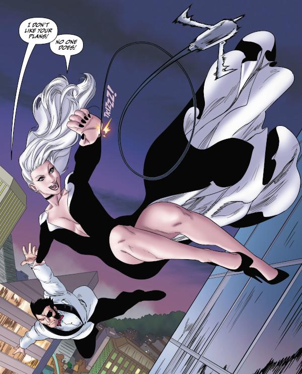 Black Cat #9 comic review
