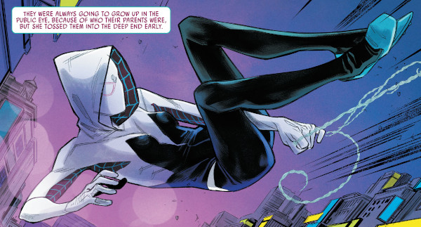Ghost-Spider #7 comic review
