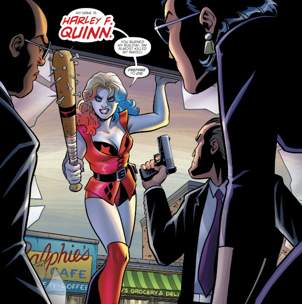 Harley Quinn & the Birds of Prey #1 comic review