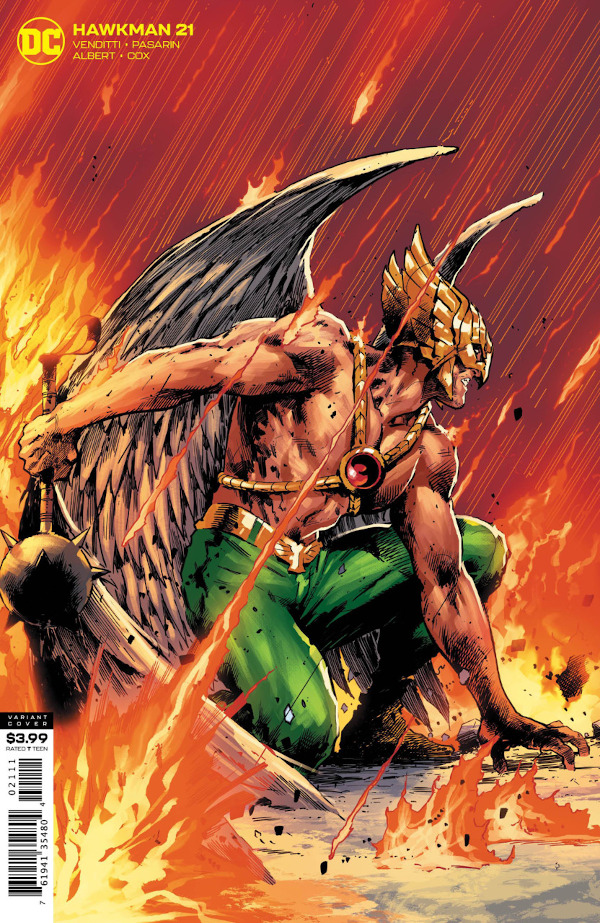 Hawkman #21 comic review