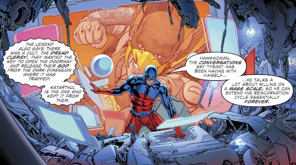 Hawkman #21 comic review
