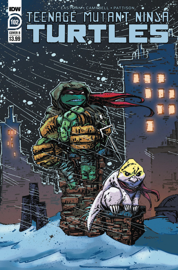 Teenage Mutant Ninja Turtles #102 comic review
