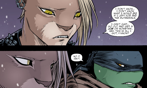 Teenage Mutant Ninja Turtles #102 comic review