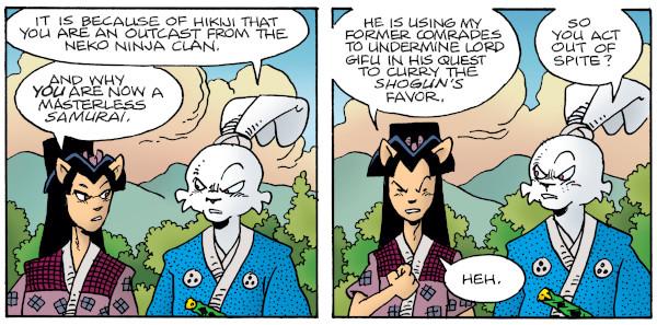 Usagi Yojimbo #8 comic review