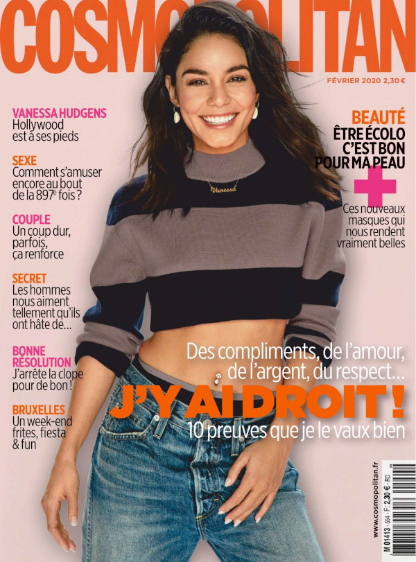 Vanessa Hudgens - Cosmopolitan France (February 2020)
