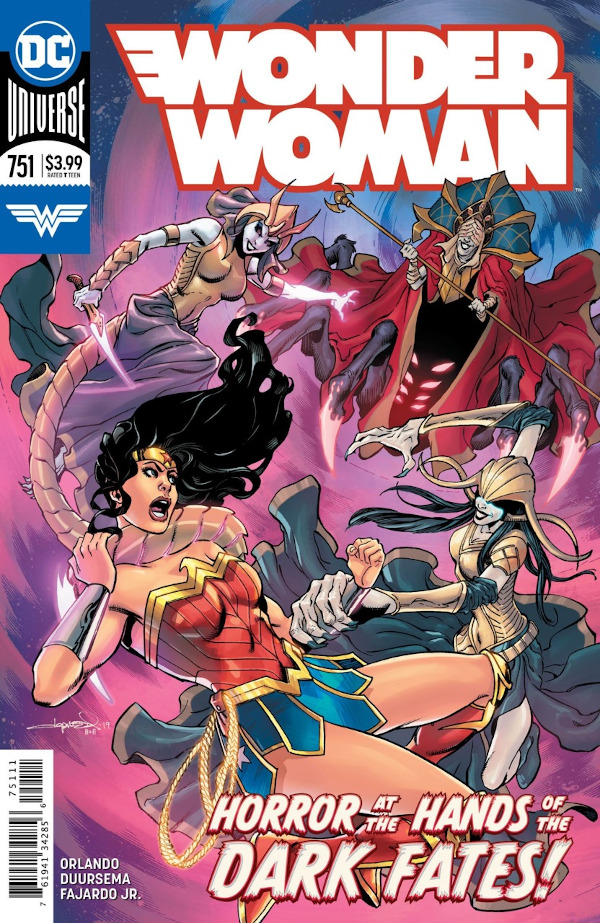 Wonder Woman #751 comic review