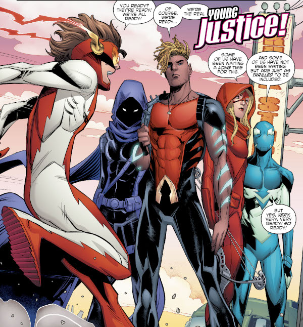 Young Justice #13 comic review