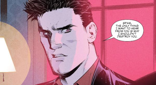 Angel + Spike #9 comic review