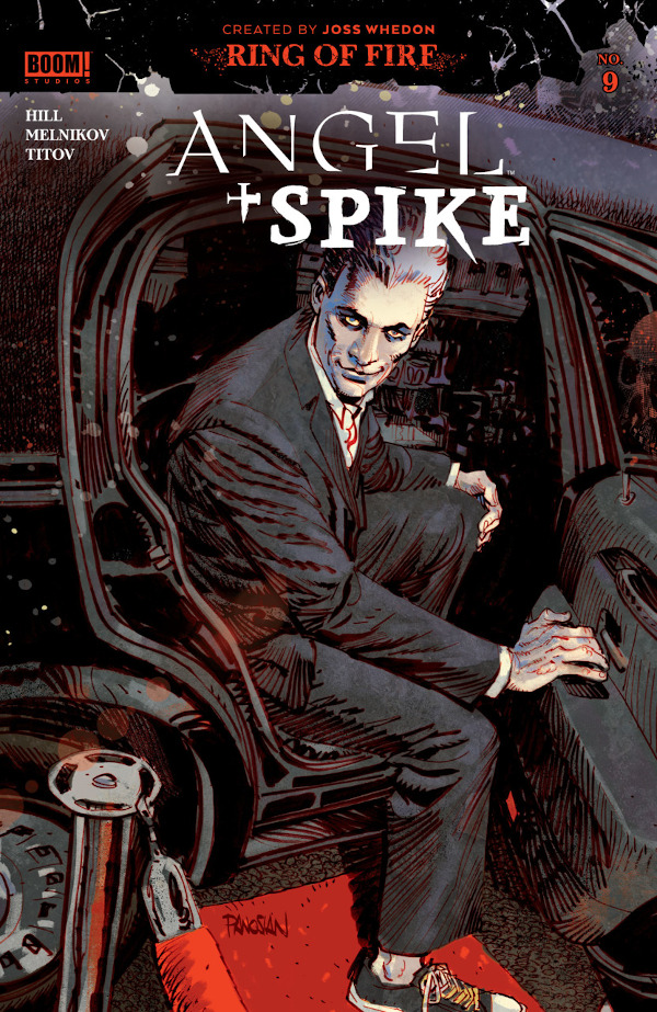 Angel + Spike #9 comic review