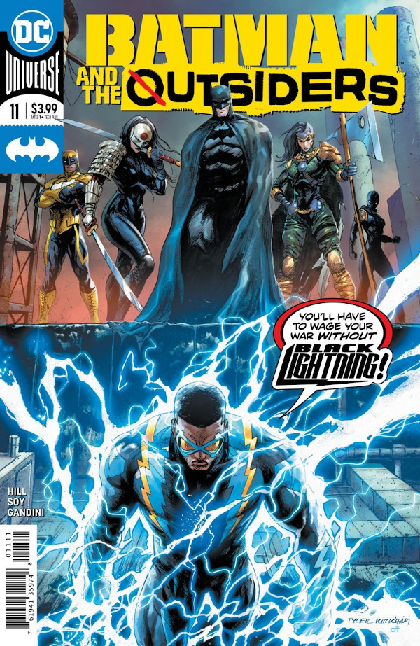 Batman & the Outsiders #11 comic review