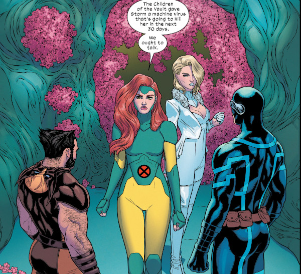 Giant-Size X-Men: Jean Grey and Emma Frost #1 comic review