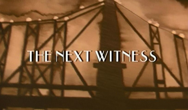 A Nero Wolfe Mystery - The Next Witness television review