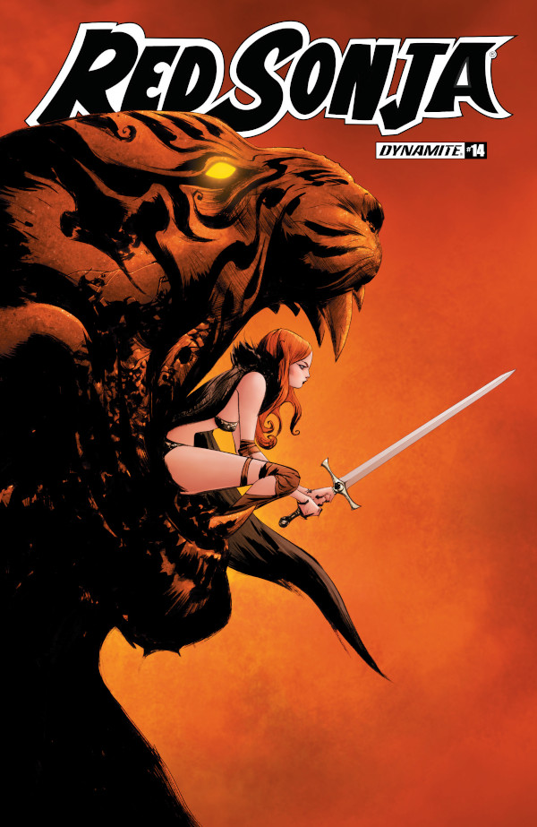 Red Sonja #14 comic review